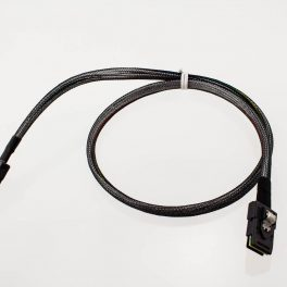 Amphenol Mini-SAS Straght-to-Straight w/ Sidebands Cable