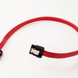 Amphenol SATA Cable (Straight to Straight with Latch)
