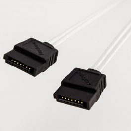 Amphenol SATA3 30 AWG Cable (Straight to Straight with Center Grip)