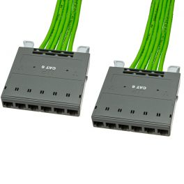 FlexNet CAT6 UTP Port Cassette to Port Cassette